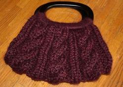 cabled knit purse | Desiree Prakash Studio