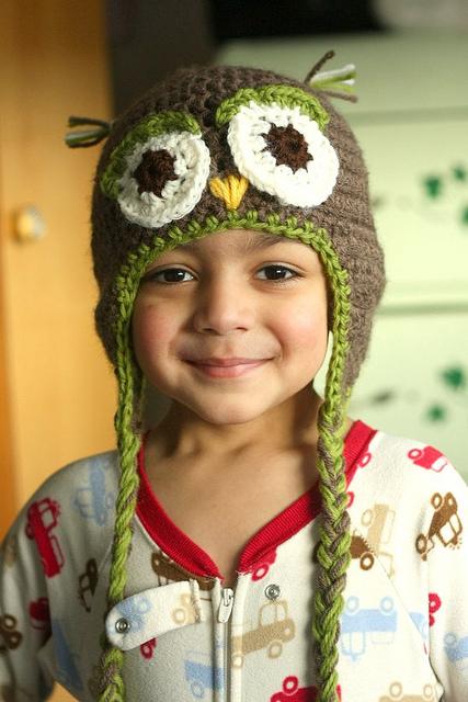 owl hat | Desiree Prakash Studio