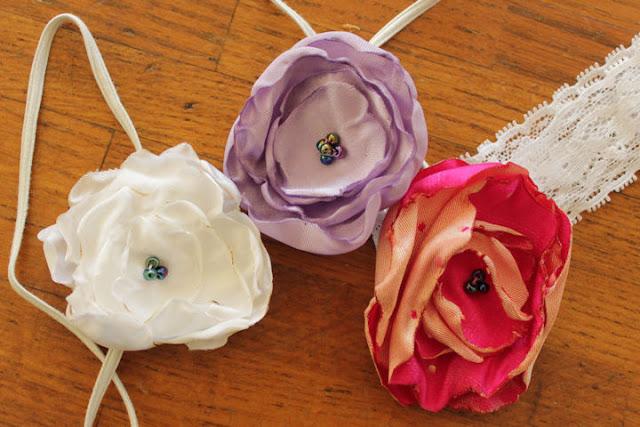 flower headbands | Desiree Prakash Studio