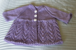lace and picot sweater | Desiree Prakash Studio