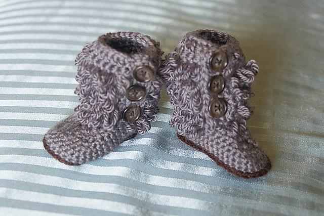 gray loop boots