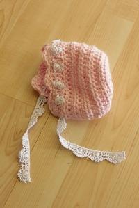 ruffle bonnet | Desiree Prakash Studio