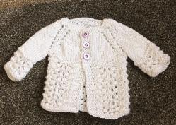 lace sweater | Desiree Prakash Studio