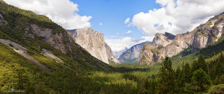 Tunnel View Panorama