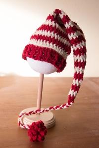red striped stocking cap hat | Desiree Prakash Studio