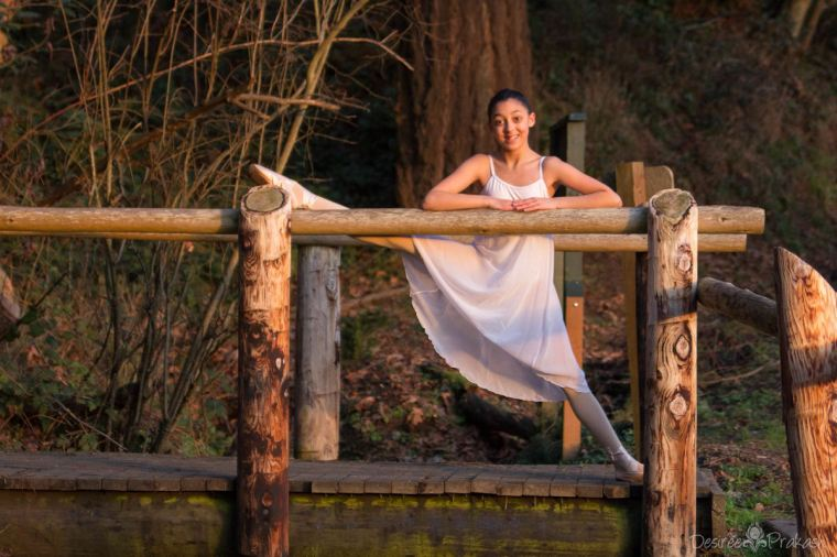 Dancer in the woods | Desiree Prakash Studio