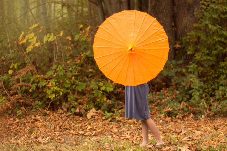 girl with a parasol | Snohomish Photography